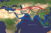 Silk Road is an example of South South cooperation