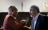 Israel berates SA over visit of Hamas leader