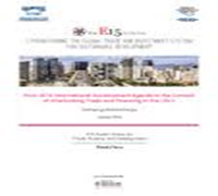 Post 2015 International Development Agenda in the Context of Interlocking Trade and Financing in the LDCs